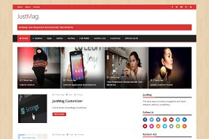 JustMag - Magazine WordPress Theme
