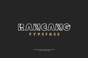 Rancang Typeface