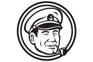 Sea Captain Pipe Smoke Circle