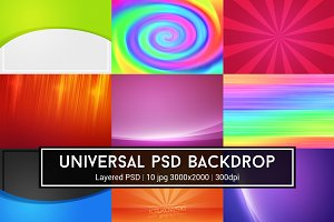 Universal PSD Backdrop