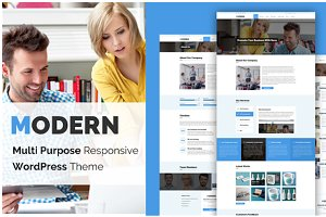 Modern Wordpress Business Theme