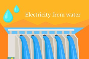 Electricity From Water Design Flat