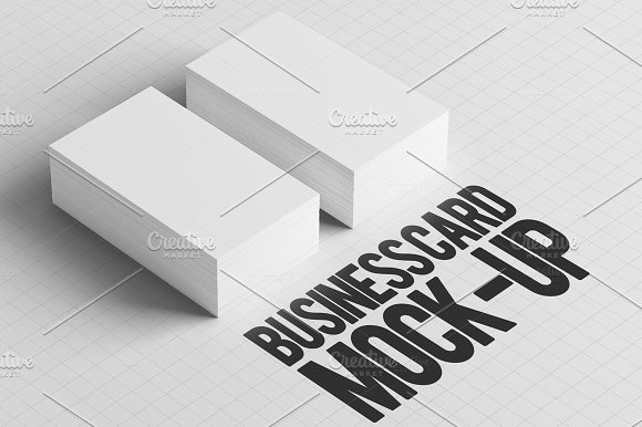 Business Card Mock-Up Pack