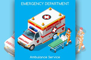 Hospital Emergency Ambulance