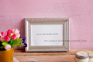 Mock up Frame Photography