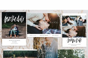 Simple Save The Date Cards vol 1