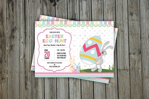 Easter Party Invitation Flyer-V216