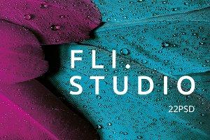 Fli.Studio - 22 PSD Template