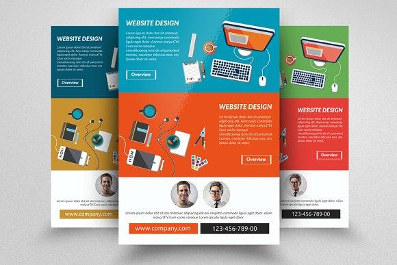 website developing designing flyer flyer templates creative market