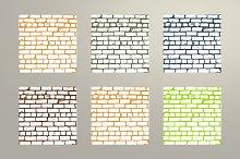 Simple old brickwork design Vol.2