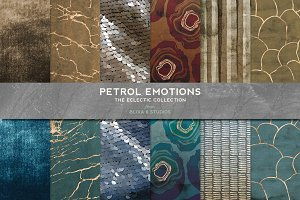 Petrol Emotions Gold Marble & Geodes