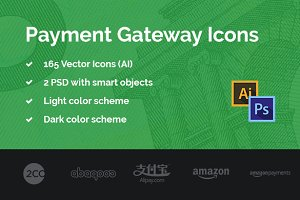 Payment Gateway Icons