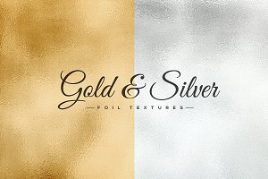 Gold & Silver Foil Textures