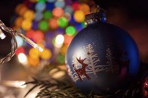 Christmas Ball and Bokeh 2