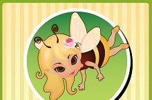 Little fairies, cartoon character