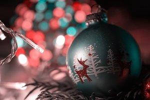 Christmas Ball and Bokeh