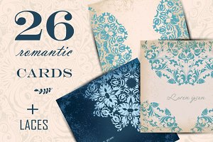 Rownd Lace Cards