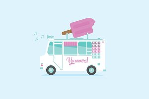 Ice Cream Truck & Shop