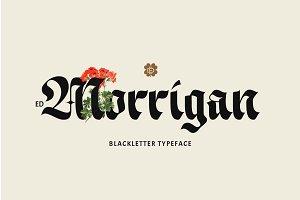 ED Morrigan Typeface