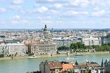 Budapest city architecture