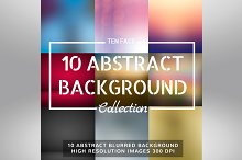 10 Abstract Blurred Background