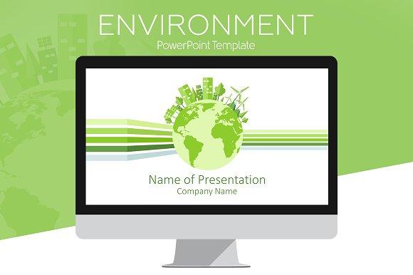 Environment Powerpoint Template Presentation Templates Creative
