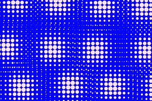 Background of white and blue dots