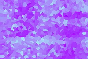 Background colors of lilac crystals