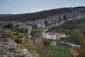 Horadada canyon, Pisuerga, Palencia
