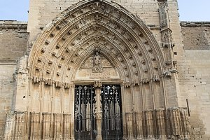 Gateway to a castle