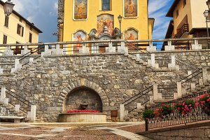 church in Pontedilegno
