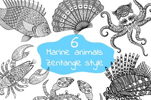6 unique marine animals