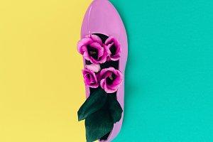 Fashion Shoes Flowers