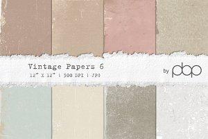 Vintage Paper Textures 6 - NEW