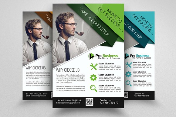 Business Training Agency Flyer Flyer Templates Creative Market