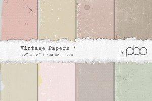Vintage Paper Textures 7 -  NEW