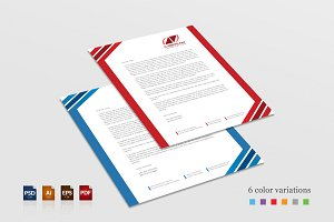 Creative Corporate Letterhead