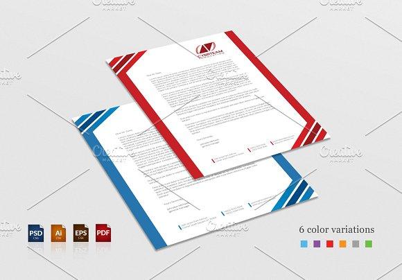 Creative Corporate Letterhead Design