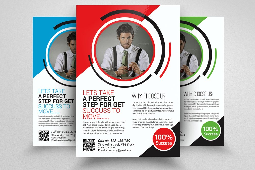 Small Business Consulting Flyer Flyer Templates Creative Market - Consulting brochure template