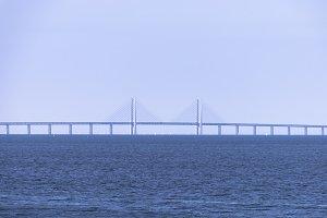 Bridge with clean skies