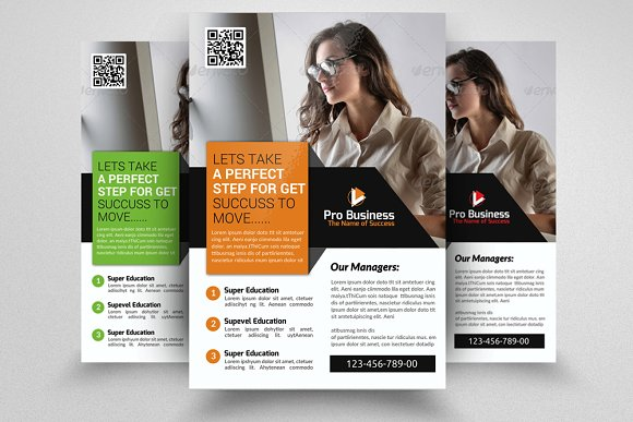 Bookkeeping accounting flyer flyer templates creative market bookkeeping accounting flyer flyers pronofoot35fo Gallery