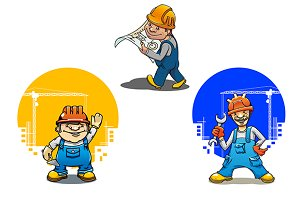 Engineer, bricklayer and builder