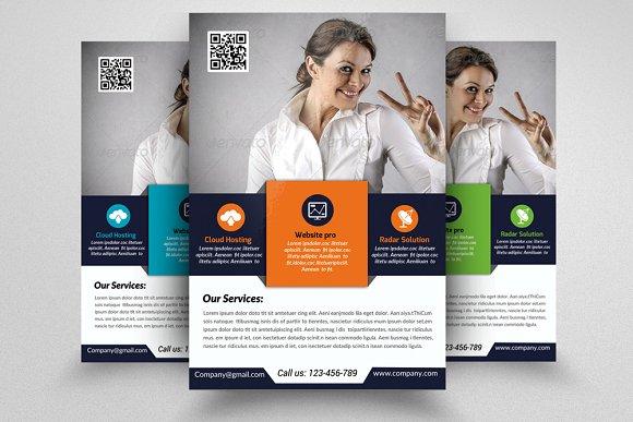 software developer flyer template flyer templates creative market