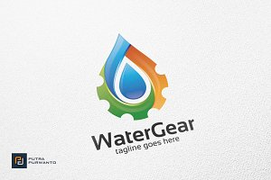 Water Gear - Logo Template