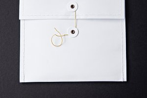 White Envelope Mockup III
