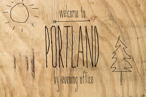 Portland | Handwritten Font