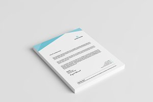 New Abstract Style letterhead