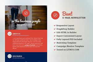Bunt - Corporate Email Template