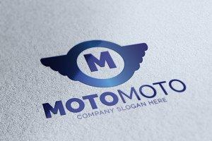 Moto M Letter Logo