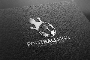 Football King Logo